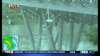 Conditions in SWFL an hour before landfall - Video