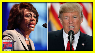 This is How Maxine Waters Envisions Trump's Departure from the White House