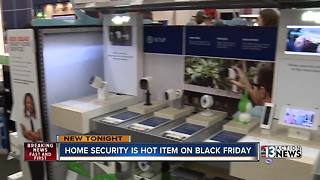 Home security is hot item on Black Friday - Video