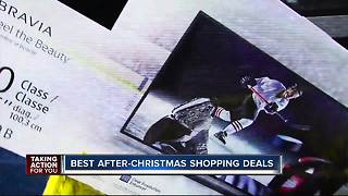 After Christmas Shopping deals - Video