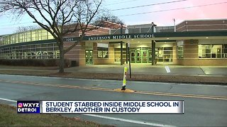 Student stabbed inside middle school in Berkley