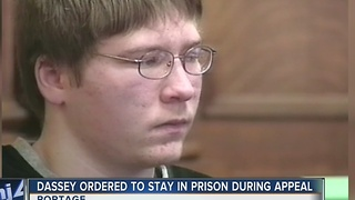 Brendan Dassey ordered to stay in prison during appeal - Video