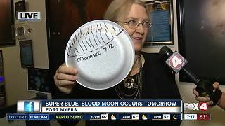 Rare 'super blue blood moon' will light the sky Wednesday morning - 7am live report - Video