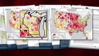 Wisconsin 'in the red zone' for COVID-19 cases, White House task force report says