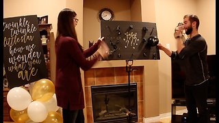 Gender reveal prank ends with a bang - Video