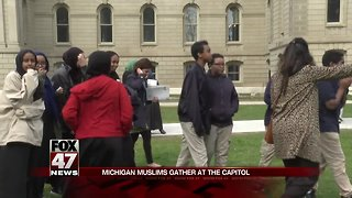 Michigan Muslims advocate at Capitol