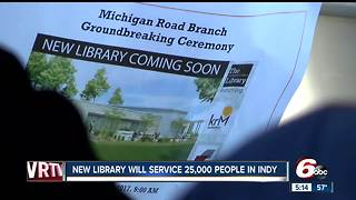 New Indianapolis library will service 25,000 people - Video
