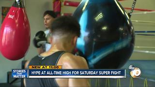 Hype at all-time high for Saturday super fight - Video