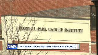 New brain cancer treatment developed in Buffalo - Video