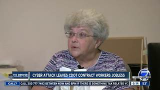 Ransomware attack leaves CDOT contract workers without jobs - Video