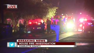 Port Charlotte home destroyed by fire early Thursday morning - Video