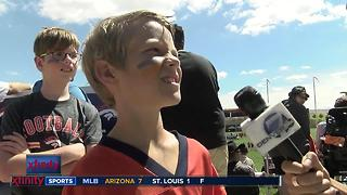 CO Kids Talk Sports at TC about QB battle - Video