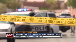 Grandson accidentally shoots, kills grandmother - Video