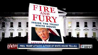 Las Vegas locals respond to 'Fire and Fury' - Video