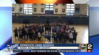 Epic shout out from Kenwood High School - Video