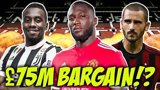 Romelu Lukaku Is The BEST Signing Of The Year Because… - Video
