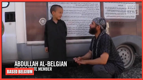 Meet Abdullah 'The Belgian' and his young son...
