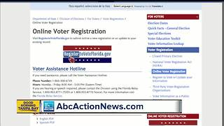 Register to vote for the 2018 General Election