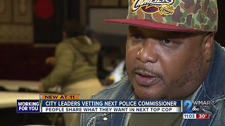City council to vet police chief, asking for input from public