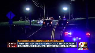 Witness: Man drove erratically before fatal crash - Video