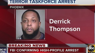 Phoenix man arrested by FBI terrorism task force - Video