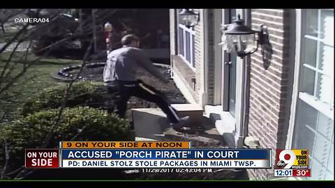 PD: Facebook post helps nab accused 'porch pirate' in Miami Township package theft