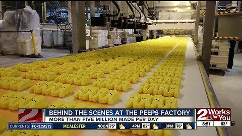 Inside the Peeps factory