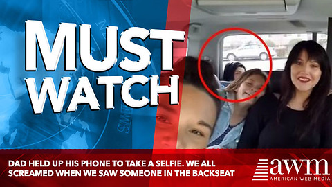Son Pops Out Of A Car's Backseat To The Confusion Of His Family
