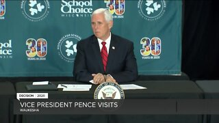 Vice President Mike Pence visits Milwaukee