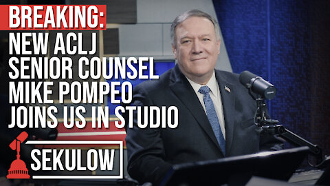 BREAKING: New ACLJ Senior Counsel Mike Pompeo Joins Us In Studio