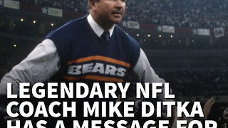 NFL Legend Mike Ditka Has Message for Kaepernick on 9/11 Anniversary - Video