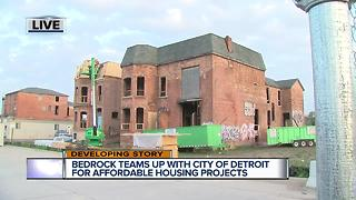 Bedrock teams up with city for affordable housing - Video