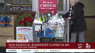 Hogan closes all non-essential businesses, releases funds for small businesses