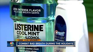 Combat bad breath during the holidays - Video