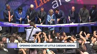 Opening ceremony takes place at Little Caesars Arena