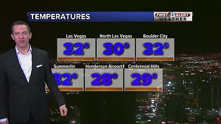 13 First Alert Las Vegas weather updated February 8 morning
