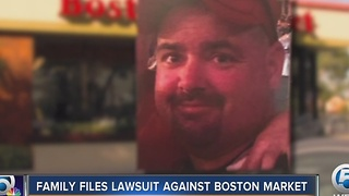 Family files lawsuit against Boston Market - Video