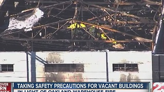 Taking safety precautions for vacant buildings - Video