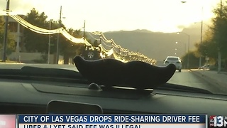 Las Vegas reaches settlement with Uber, Lyft to drop driver fees - Video