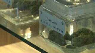 San Diego pot shops stock up to keep up with high cannabis demand - Video