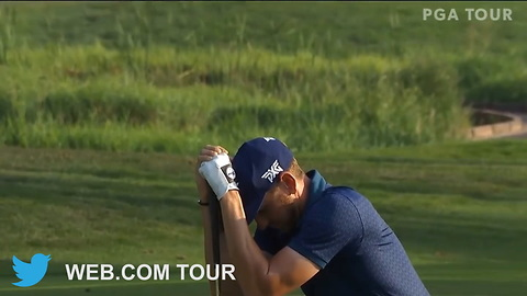 Watch The Sheer Agony After Golfer Misses Pga Tour Card By An Inch