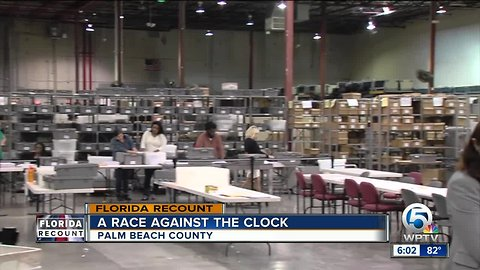 Palm Beach County completes tabulation of early-voting ballots in Florida Senate race