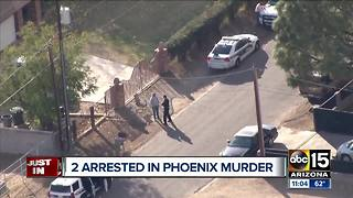 Two arrested in Wisconsin after man found dead in north Phoenix home - Video