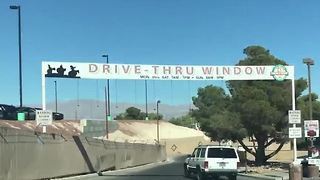 Nevada's first marijuana drive-thru window opens on Main Street - Video