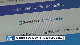 In-person doctor appointments are safe, but virtual options might make you feel better
