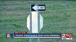 Pregnant 24-year-old killed by drunk driver - Video