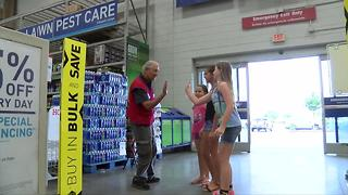 Bakersfield Lowe's greeter acted in movies with Clint Eastwood and Frank Sinatra - Video