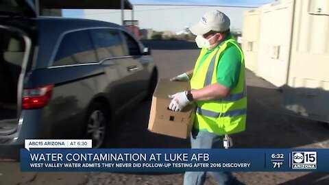 Water utility: Water contamination near Luke Air Force Base may have been known in 2016