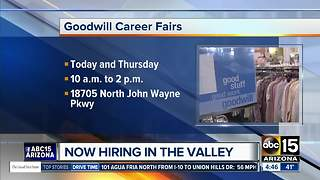 Jobs available now in the Valley - Video