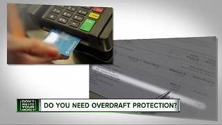 Do you need overdraft protection? - Video
